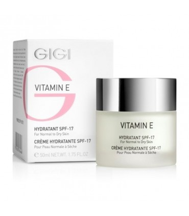 Hydratant - SPF-17 - normal to dry skin - GiGi - Vitamin E - 50 ml