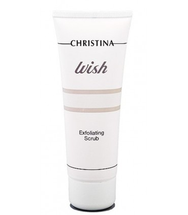 Exfoliating Scrub - Serie Wish - Christina - 75 ml