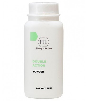 Powder for oily skin - Double Action - Holy Land - 50 ml
