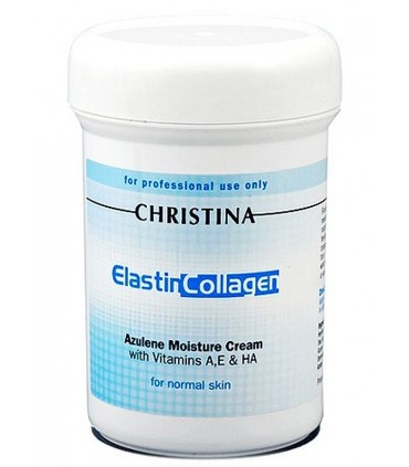 Elastin Collagen Azulene Moisture Cream - Moisture - Christina - 100 ml