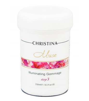 Illuminating Gommage - Step 3 - Serie Muse - Christina - 250 ml